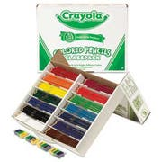 Crayola Colored Woodcase Pencil Classpack, 3.3 mm, 14 Assorted Color Sets/Box