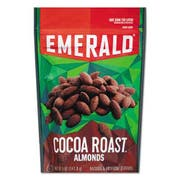 Emerald Cocoa Roasted Almonds, 5 oz Pack, 6/Carton