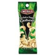 Emerald Sea Salt and Pepper Cashews, 1.25 oz. Tube Package, 12/Box