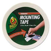 Duck Permanent Foam Mounting Tape, 3/4 inch x 36yds