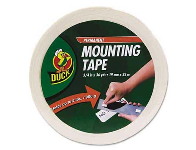 Duck Permanent Foam Mounting Tape, 3/4 inch x 36yds