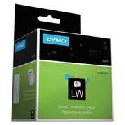 DYMO LabelWriter Continuous-Roll Receipt Paper, 3 1/2 x 300, White