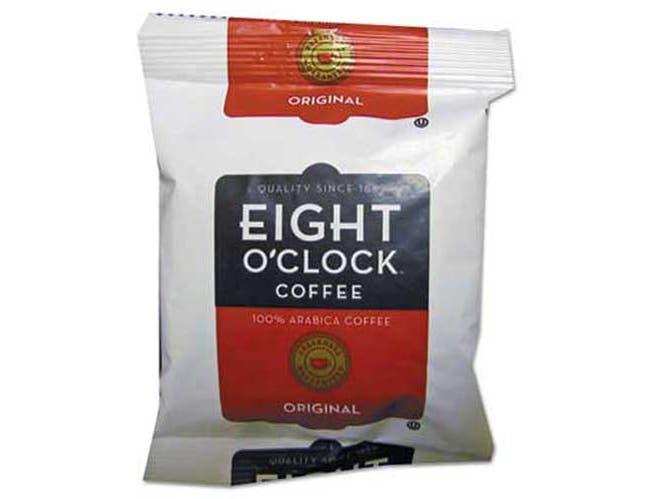 Eight OClock Original Ground Coffee Fraction Packs, 1.5oz, 42/Carton