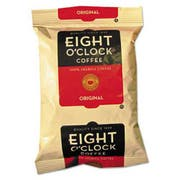 Eight OClock Regular Ground Coffee Fraction Packs, Original, 2oz, 42/Carton