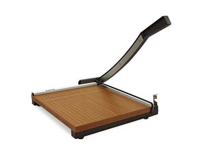X-ACTO Square Commercial Grade Wood Base Guillotine Trimmer, 15 Sheets, 15 inch x 15 inch