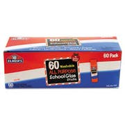 Elmers Washable All Purpose School Glue Sticks, Clear, 60/Box