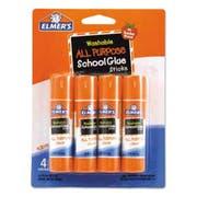 Elmers Washable All Purpose School Glue Sticks, 4/Pack