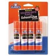 Elmers Washable School Glue Sticks, Disappearing Purple, 4/Pack