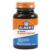 Elmers Rubber Cement, Repositionable, 4 oz