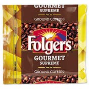 Folgers Coffee, Fraction Pack, Gourmet Supreme, 1.75oz, 42/Carton