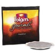 Folgers Gourmet Selections Coffee Pods, Hazelnut, 18/Box