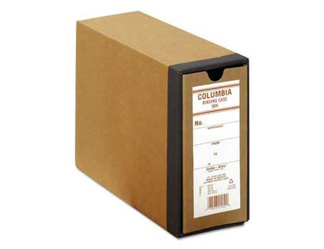 Pendaflex COLUMBIA Recycled Binding Cases, 3 1/8 inch Cap, 11 x 8 1/2, Kraft