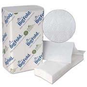 Georgia Pacific Professional BigFold Paper Towels, 10 1/5 x 10 4/5, White, 220/Pack, 10 Packs/Carton