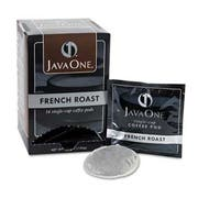 Java One Coffee Pods, French Roast, Single Cup, 14/Box