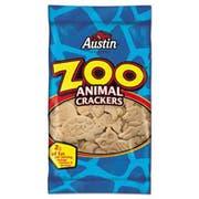 Austin Zoo Animal Crackers, Original, 2oz Pack, 80/Carton