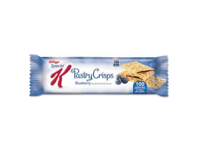Kelloggs Special K Pastry Crisps, Blueberry, 9/Box