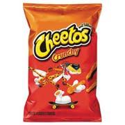 Cheetos Crunchy Cheese Flavored Snacks, 2 oz Bag, 64/Carton
