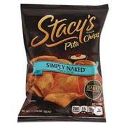 Stacys Pita Chips, 1.5 oz Bag, Original, 24/Carton