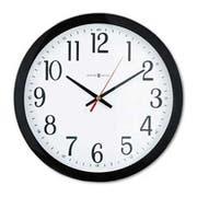 Howard Miller Gallery Wall Clock, 16 inch, Black