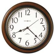 Howard Miller Talon Wall Clock, 15-1/4 inch, Cherry