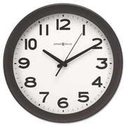 Howard Miller Kenwick Wall Clock, 13-1/2 inch, Black