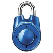 Master Lock Speed Dial Set-Your-Own Combination Lock, 2 inch Wide, Assorted