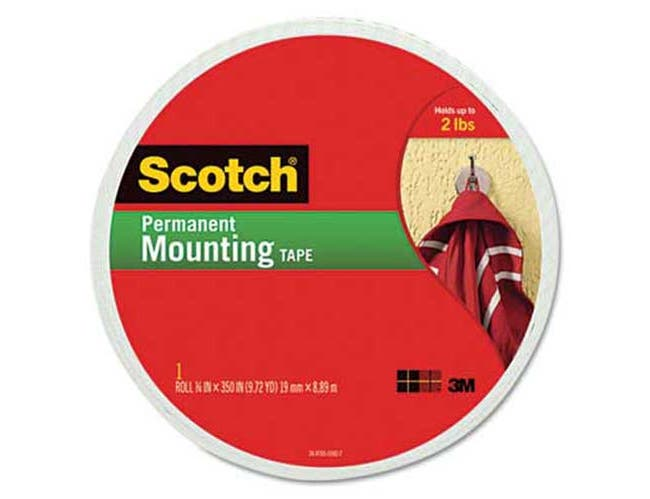 Scotch Foam Mounting Double-Sided Tape, 3/4 inch Wide x 350 inch Long