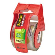 Scotch Sure Start Packaging Tape, 1.88 inch x 22.2yds, 1 1/2 inch Core, Clear