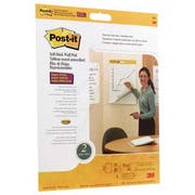 Post-it Easel Pads Self-Stick Wall Easel Unruled Pad, 20 x 23, White, 20 Sheets, 4 Pads/Carton