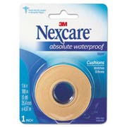 3M Nexcare Absolute Waterproof First Aid Tape, Foam, 1 inch x 180 inch