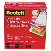 Scotch Book Repair Tape, 2 inch x 15yds, 3 inch Core