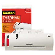 Scotch Thermal Laminator Value Pack, 9 inch W, with 20 Letter Size Pouches