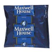 Maxwell House Coffee, Regular Ground, 1.5oz Pack, 42/Carton