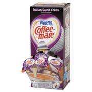 Coffee-mate Liquid Coffee Creamer, Italian Sweet Creme, 0.375 oz Cups, 50/Box