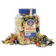 Walkers Nonsuch Assorted Toffee, 2.75lb Plastic Tub