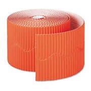 Pacon Bordette Decorative Border, 2 1/4 inch x 50 Roll, Orange