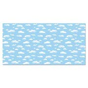 Pacon Fadeless Designs Bulletin Board Paper, Clouds, 50 ft x 48 inch