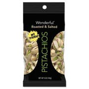 Paramount Farms Wonderful Pistachios, Dry Roasted & Salted, 5 oz, 8/Box