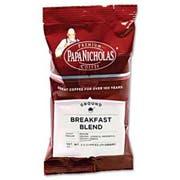 PapaNicholas Coffee Premium Coffee, Breakfast Blend, 18/Carton