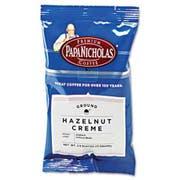 PapaNicholas Coffee Premium Coffee, Hazelnut Creme, 18/Carton
