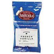 PapaNicholas Coffee Premium Coffee, French Vanilla, 18/Carton