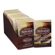 PapaNicholas Coffee Premium Hot Cocoa, Dutch Chocolate, 24/Carton