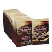 PapaNicholas Coffee Premium Hot Cocoa, Chocolate Peppermint, 24/Carton