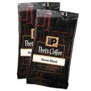 Peets Coffee and Tea Coffee Portion Packs, House Blend, 2.5 oz Frack Pack, 18/Box