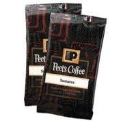 Peets Coffee and Tea Coffee Portion Packs, Sumatra, 2.5 oz Frack Pack, 18/Box