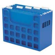 Pendaflex DecoFlex Letter Size Desktop Hanging File, Plastic, 12 1/4 x 6 x 9 1/2, Blue