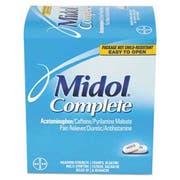 Midol Menstrual Complete Caplets, Two-Pack, 30 Packs/Box