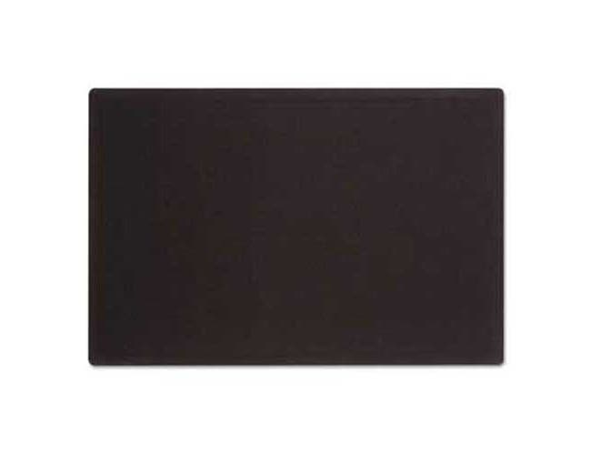 Quartet Oval Office Fabric Bulletin Board, 48 x 36, Black
