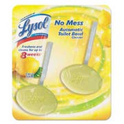 LYSOL Brand No Mess Automatic Toilet Bowl Cleaner, Citrus, 2/Pack