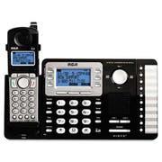 RCA ViSYS Cordless Expandable Phone/Ans System, 2 Lines, 1 Handset